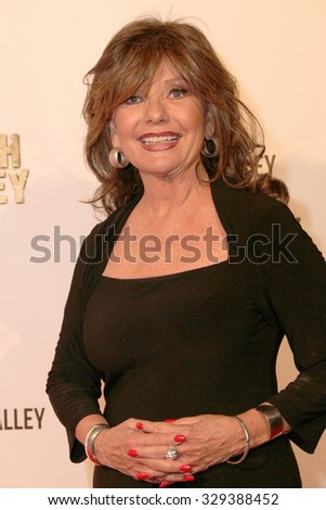 """LOS ANGELES- OCT 17: Dawn Wells arrives at the """"Death Valley"""" film premiere Oct. 17, 2015 at Raleigh Studios in Los Angeles, CA. - stock photo"""