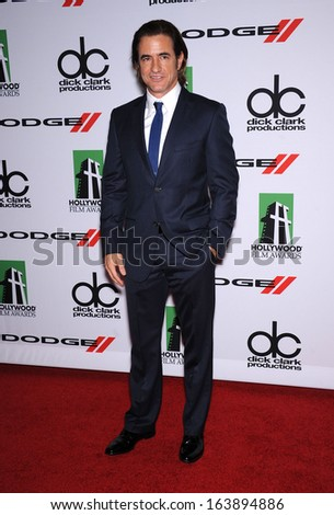 LOS ANGELES - OCT 21:  Dermot Mulroney arrives to Hollywood Film Awards Gala 2013  on October 21, 2013 in Beverly Hills, CA                 - stock photo