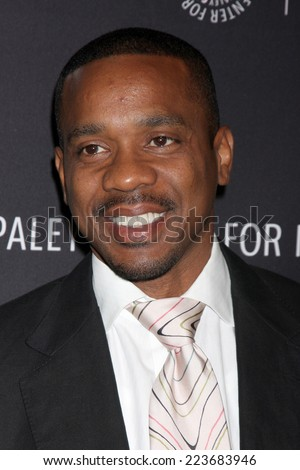 LOS ANGELES - OCT 14:  Duane Martin at the Real Husbands of Hollywood Screening at Paley Center For Media on October 14, 2014 in Beverly Hills, CA - stock photo