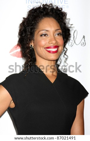LOS ANGELES - OCT 17:  Gina Torres arriving at the  LES GIRLS 11th Annual Cabaret at the Avalon on October 17, 2011 in Los Angeles, CA
