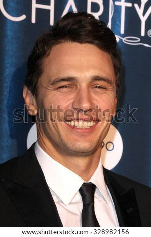LOS ANGELES - OCT 17:  James Franco at the Hilarity for Charity`s James Franco`s Bar Mitzvah at the Hollywood Paladium on October 17, 2015 in Los Angeles, CA - stock photo