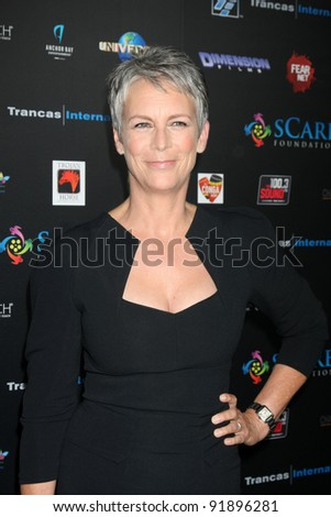 LOS ANGELES   OCT 30: Jamie Lee Curtis At The SCare Foundation Halloween  Launch Benefit