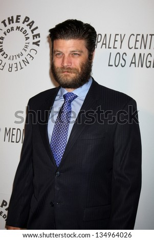 LOS ANGELES - OCT 22:  Jay R Ferguson arrives at  the Paley Center for Media Annual Los Angeles Benefit at The Lot on October 22, 2012 in Los Angeles, CA