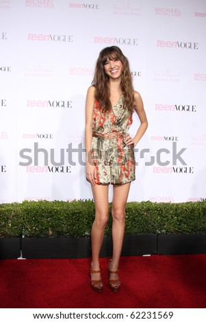 LOS ANGELES - OCT 1:  Kelsey Chow arrives at the 8th Teen Vogue Young Hollywood Party - Red Carpet at Paramount Studios on October 1, 2010 in Los Angeles, CA