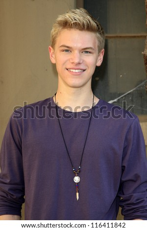 LOS ANGELES - OCT 21: Kenton Duty at the Camp Ronald McDonald for Good Times 20th Annual Halloween Carnival at the Universal Studios Backlot on October 21, 2012 in Los Angeles, California - stock photo