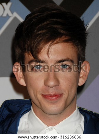 LOS ANGELES - OCT 4:  Kevin McHale arrives at the 2013 FOX Winter TCA All Star Party  on January 8, 2013 in Pasadena, CA