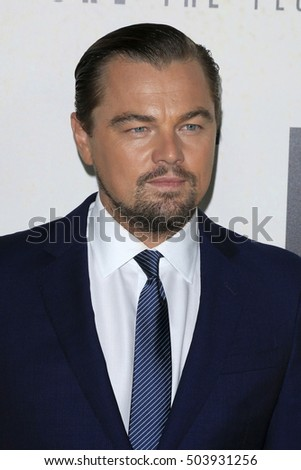 "LOS ANGELES - OCT 24:  Leonardo DiCaprio at the Screening Of National Geographic Channel's ""Before The Flood"" at Bing Theater At LACMA on October 24, 2016 in Los Angeles, CA"
