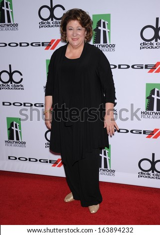 LOS ANGELES - OCT 21:  Margo Martindale arrives to Hollywood Film Awards Gala 2013  on October 21, 2013 in Beverly Hills, CA                 - stock photo