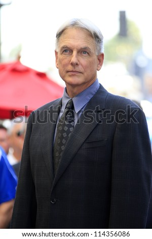 LOS ANGELES - OCT 1: Mark Harmon at a ceremony as Mark Harmon is honored with a star on the Hollywood Walk of Fame on October 1, 2012 in Los Angeles, California