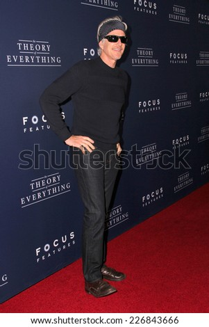 "LOS ANGELES - OCT 24:  Matthew Modine at the ""The Theory Of Everything"" Premiere at the AMPAS Samuel Goldwyn Theater on October 24, 2014 in Beverly Hills, CA - stock photo"