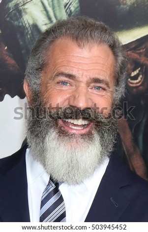 "LOS ANGELES - OCT 24:  Mel Gibson at the ""Hacksaw Ridge"" Screening at Samuel Goldwyn Theater on October 24, 2016 in Beverly Hills, CA"