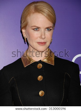 LOS ANGELES - OCT 4:  Nicole Kidman arrives at the Variety 5th Annual Power of Women Event   on October 4, 2013 in Beverly Hills, CA                 - stock photo