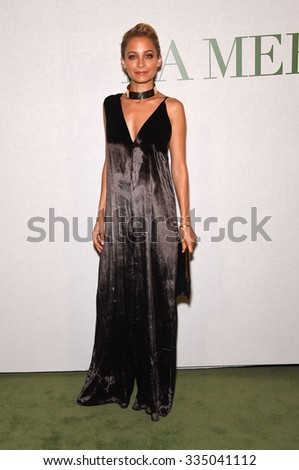 "LOS ANGELES - OCT 13:  Nicole Richie arrives to the La Mer ""Celebration of an Icon"" Global Event on October 13, 2015 in Hollywood, CA.                 - stock photo"