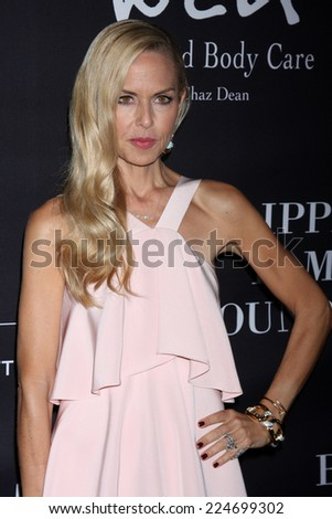 LOS ANGELES - OCT 18:  Rachel Zoe at the Pink Party 2014 at Hanger 8 on October 18, 2014 in Santa Monica, CA - stock photo