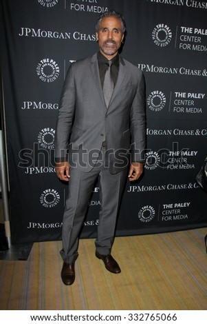 LOS ANGELES - OCT 26:  Rick Fox at the Paley Center's Hollywood Tribute to African-Americans in TV at the Beverly Wilshire Hotel on October 26, 2015 in Beverly Hills, CA - stock photo