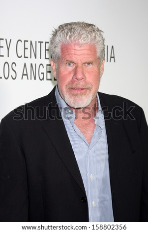 LOS ANGELES - OCT 16:  Ron Perlman at the 2013 Paley Center For Media Benefit Gala at 21st Century Fox Studios Lot on October 16, 2013 in Century City, CA