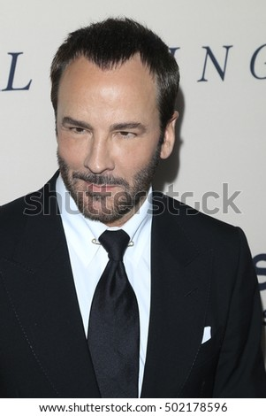 "LOS ANGELES - OCT 20:  Tom Ford at the ""Loving"" Premiere at Samuel Goldwyn Theater on October 20, 2016 in Beverly Hills, CA"