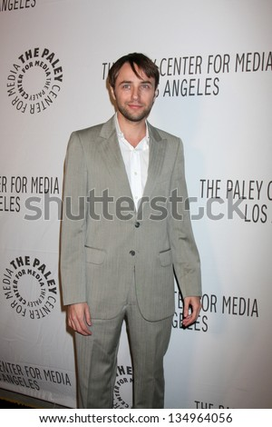 LOS ANGELES - OCT 22:  Vincent Kartheiser arrives at  the Paley Center for Media Annual Los Angeles Benefit at The Lot on October 22, 2012 in Los Angeles, CA