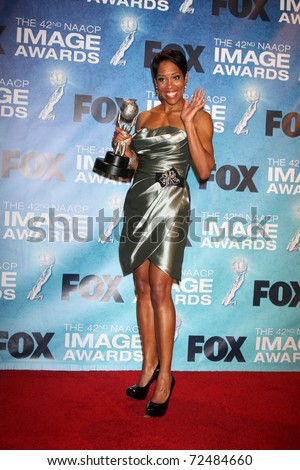 LOS ANGELES -  4: Regina King in the Press Room of the 42nd NAACP Image Awards at Shrine Auditorium on March 4, 2011 in Los Angeles, CA