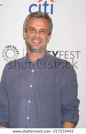 LOS ANGELES - SEP 15:  Andrew Mogel at the PaleyFest 2015 Fall TV Preview - FOX at the Paley Center For Media on September 15, 2015 in Beverly Hills, CA - stock photo