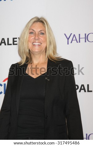"LOS ANGELES - SEP 16:  Ann Donahue at the PaleyFest 2015 Fall TV Preview - ""CSI"" Farewell Salute at the Paley Center For Media on September 16, 2015 in Beverly Hills, CA - stock photo"