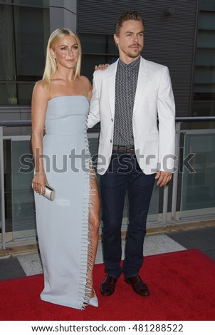 LOS ANGELES - SEP 10:  Brooks Laich and Julianne Hough arrives to the 6th Annual Celebration of Dance Gala presented by Dizzy Feet Foundation on September 10, 2016 in Los Angeles, CA