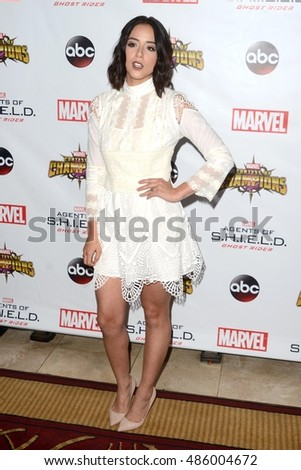 "LOS ANGELES - SEP 19:  Chloe Bennet at the ""Agents Of SHIELD"" Season 4 Premiere at the Pacific Theater at The Grove on September 19, 2016 in Los Angeles, CA"