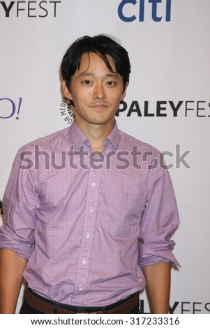 LOS ANGELES - SEP 15:  Danny Chun at the PaleyFest 2015 Fall TV Preview - FOX at the Paley Center For Media on September 15, 2015 in Beverly Hills, CA - stock photo