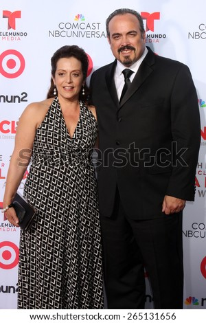 LOS ANGELES - SEP 27:  David Zayas at the 2013 ALMA Awards - Arrivals at Pasadena Civic Auditorium on September 27, 2013 in Pasadena, CA  - stock photo