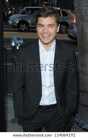 "LOS ANGELES - SEP 12:  Emile Hirsch at the ""Prisoners"" World Premiere at Academy of Motion Picture Arts and Sciences on September 12, 2013 in Beverly Hills, CA"