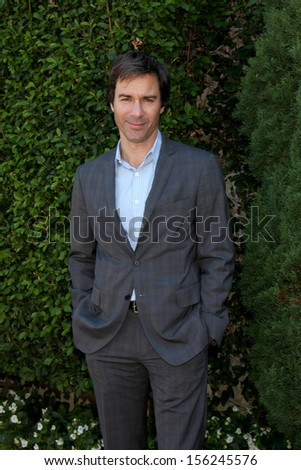 LOS ANGELES - SEP 29:  Eric McCormack at the Rape Foundation Annual Brunch at Green Acres Estate on September 29, 2013 in Beverly Hills, CA - stock photo