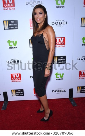 LOS ANGELES - SEP 18:  Eva Longoria Television Industry Advocacy Awards  on September 18, 2015 in Hollywood, CA                 - stock photo
