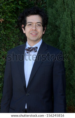 LOS ANGELES - SEP 29:  Geoffrey Arend at the Rape Foundation Annual Brunch at Green Acres Estate on September 29, 2013 in Beverly Hills, CA - stock photo
