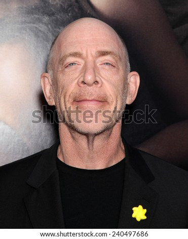 "LOS ANGELES - SEP 12:  J.K. Simmons arrives to the ""The Words"" Premiere  on September 12, 2012 in Hollywood, CA                 - stock photo"