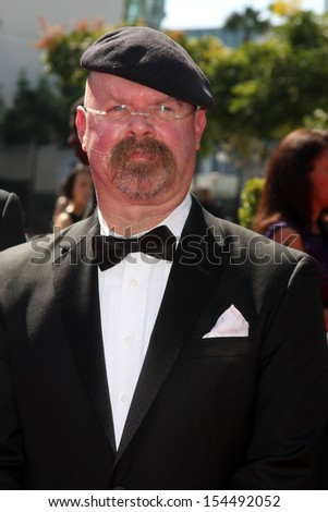 LOS ANGELES - SEP 15:  Jamie Hyneman at the Creative Emmys 2013 - Arrivals at Nokia Theater on September 15, 2013 in Los Angeles, CA