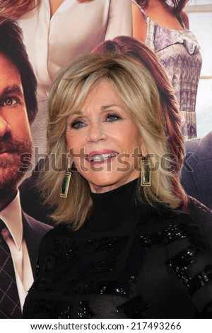"LOS ANGELES - SEP 15:  Jane Fonda at the ""This Is Where I Leave You"" Los Angeles Premiere at TCL Chinese Theater on September 15, 2014 in Los Angeles, CA - stock photo"
