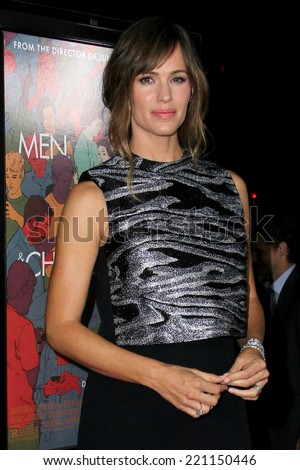 "LOS ANGELES - SEP 30:  Jennifer Garner at the ""Men, Women And Children"" - Los Angeles Premiere at Directors Guild of America on September 30, 2014 in Los Angeles, CA - stock photo"