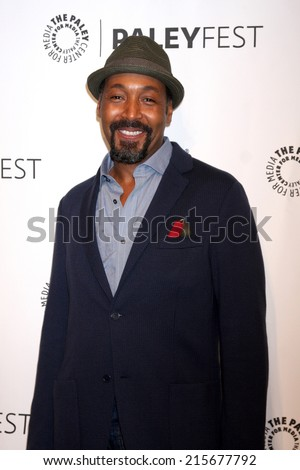 LOS ANGELES - SEP 6:  Jesse L. Martin at the Paley Center For Media's PaleyFest 2014 Fall TV Previews - The CW  at Paley Center For Media on September 6, 2014 in Beverly Hills, CA - stock photo