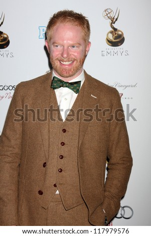 LOS ANGELES - SEP 21:  Jesse Tyler Ferguson arrives at the Primetime Emmys Performers Nominee Reception at Spectra by Wolfgang Puck on September 21, 2012 in Los Angeles, CA - stock photo