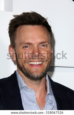 LOS ANGELES - SEP 17:  Joel McHale at the Audi Celebrates Emmys Week 2015 at the Cecconi's on September 17, 2015 in West Hollywood, CA