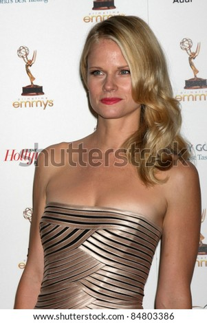 LOS ANGELES - SEP 16:  Joelle Carter 63rd Primetime Emmy Awards PERFORMERS NOMINEE RECEPTION at SPECTRA by Wolfgang Puck on September 16, 2011 in Los Angeles, CA