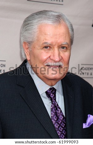 "LOS ANGELES - SEP 28:  John Aniston arrives at  ""Celebrating 45 Years of Days of Our Lives"" at Academy of Television Arts & Sciences on September 28, 2010 in No. Hollywood, CA"