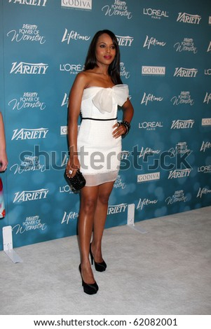 LOS ANGELES - SEP 30:  Kerry Washington arrives at  Variety's 2nd Annual Power of Women Luncheon at Beverly Hills Hotel on September 30, 2010 in Beverly Hills, CA