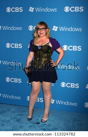 LOS ANGELES - SEP 15:  Kirsten Vangsness arrives at the CBS 2012 Fall Premiere Party  at Greystone Manor on September 15, 2012 in Los Angeles, CA