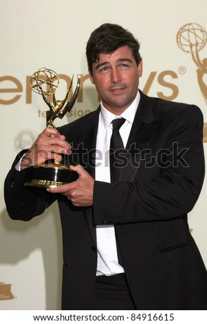 LOS ANGELES - SEP 18:  Kyle Chandler in the Press Room at the 63rd Primetime Emmy Awards at Nokia Theater on September 18, 2011 in Los Angeles, CA