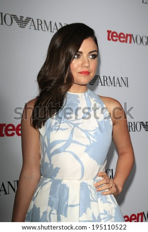 LOS ANGELES - SEP 27:  Lucy Hale at the Teen Vogue's 10th Annual Young Hollywood Party at Private Location on September 27, 2012 in Beverly Hills, CA