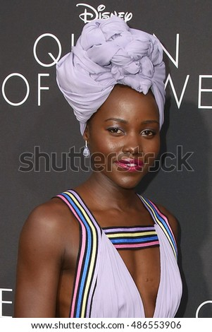 "LOS ANGELES - SEP 20:  Lupita Nyong'o at the ""Queen Of Katwe"" Los Angeles Premiere at the El Capitan Theater on September 20, 2016 in Los Angeles, CA"