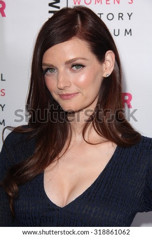 LOS ANGELES - SEP 19:  Lydia Hearst at the 4th Annual Women Making History Brunch at the Skiirball Cultural Center on September 19, 2015 in Los Angeles, CA