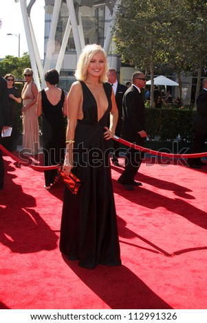 LOS ANGELES - SEP 15:  Malin Akerman arrives at the  Primetime Creative Emmys 2012 at Nokia Theater on September 15, 2012 in Los Angeles, CA