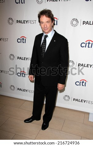 LOS ANGELES - SEP 8:  Martin Short at the Paley Center For Media's PaleyFest 2014 Fall TV Previews - FOX at Paley Center For Media on September 8, 2014 in Beverly Hills, CA - stock photo